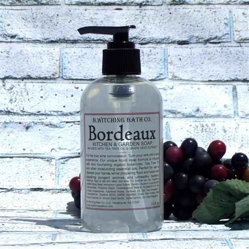 bordeaux kitchen garden soap. Black Bedroom Furniture Sets. Home Design Ideas