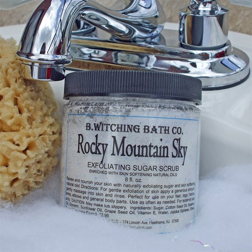 Rocky Mountain Sky Exfoliating Sugar Scrub
