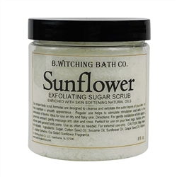 Sunflower Exfoliating Sugar Scrub