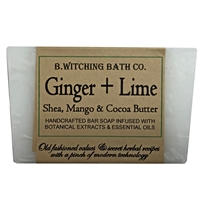 Ginger + Lime Bar Soap