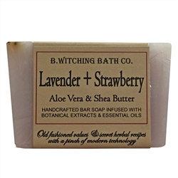 Lavender + Strawberry Bar Soap