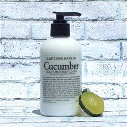 Cucumber Goats Milk Lotion