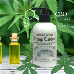 Hemp Garden Aloe Vera Body Lotion