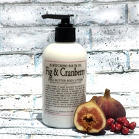 Fig & Cranberry Shea Butter Lotion