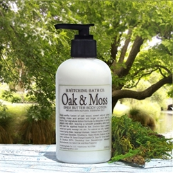 Oak & Moss Shea Butter Body Lotion