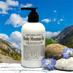 Rocky Mountain Sky Aloe Vera Lotion