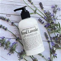 Royal Lavender Aloe Vera Lotion