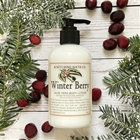 Winter Berry Aloe Vera Lotion