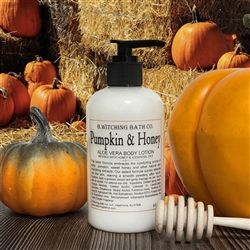 Pumpkin & Honey Aloe Vera Lotion