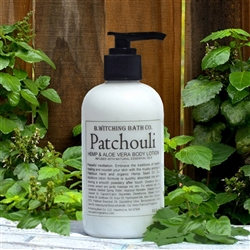 Patchouli Hemp & Aloe Vera Lotion