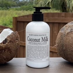Coconut Milk Goat's Milk Lotion
