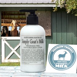 Simply Goat's Milk FRAGRANCE FREE Lotion