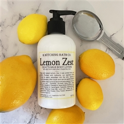Lemon Zest Goat's Milk Lotion
