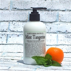 Mint Tangerine Shea Butter Lotion