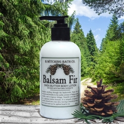 Balsam Fir Shea Butter Lotion