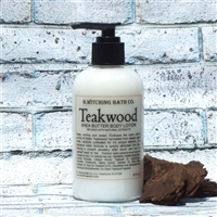 Teakwood Shea Butter Lotion