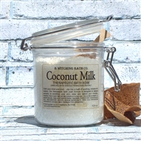 Coconut Milk Bath Soak - Dead Sea Salt