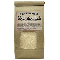Meditation Bath Soak - Epsom Salt