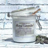 Royal Lavender Bath Soak - Dead Sea Salt