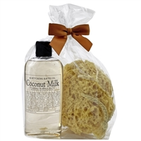 Coconut Milk Bubble Bath Gift Set