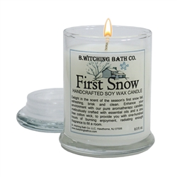First Snow Apothecary Soy Wax Candle