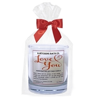 Love You Soy Wax Candle