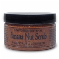 Banana Nut Face Scrub & Cleanser
