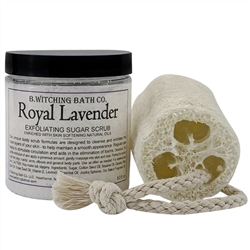 Royal Lavender Exfoliating Sugar Scrub Gift Set