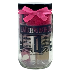 Champagne Strawberries Gift Keepsake Jar