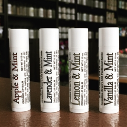 Old-fashioned Kettle Lip Balms