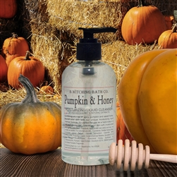 Pumpkin & Honey Moisturizing Liquid Cleanser