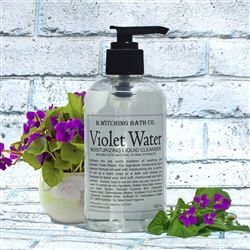 Violet Water Moisturizing Liquid Cleanser