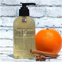 Citrus & Cinnamon Moisturizing Liquid Cleanser