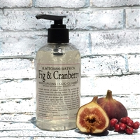 Fig & Cranberry Moisturizing Liquid Cleanser