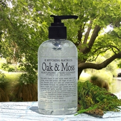 Oak & Moss Moisturizing Liquid Cleanser