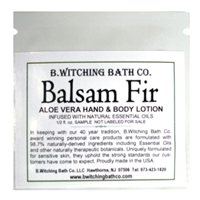 Balsam Fir - Lotion Sample Pack