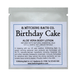 Birthday Cake - Lotion Sample Pack