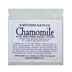 Chamomile - Lotion Sample Pack