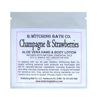 Champagne & Strawberries - Lotion Sample Pack