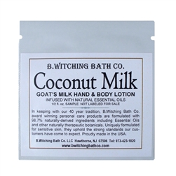 Coconut Milk - Lotion Sample Pack