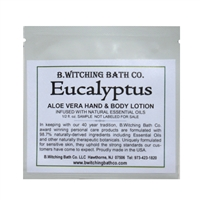 Eucalyptus - Lotion Sample Pack