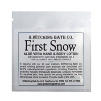 First Snow - Lotion Sample Pack