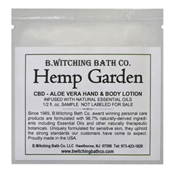 Hemp Garden - Lotion Sample Pack