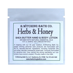 Herbs & Honey - Lotion Sample Pack