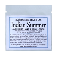 Indian Summer - Lotion Sample Pack