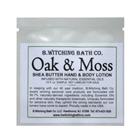 Oak & Moss - Lotion Sample Pack