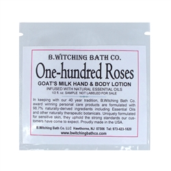 One-hundred Roses  - Lotion Sample Pack