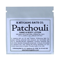Patchouli - Lotion Sample Pack
