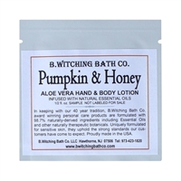Pumpkin & Honey - Lotion Sample Pack