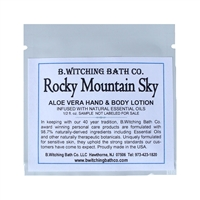 Rocky Mountain Sky - Lotion Sample Pack